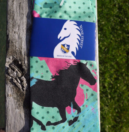 Splash and Dots Boot Socks by Royal Highness Mane Street