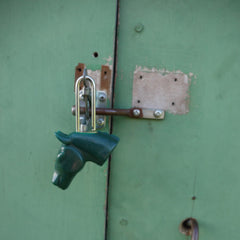 Horse Head Padlock - Pony Express Girls