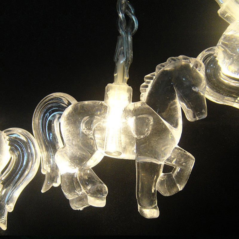 LED Horse Patio Lights - Pony Express Girls