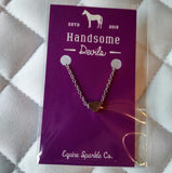 Sliding Silver Heart Necklace - Pony Express Girls Canada - 2