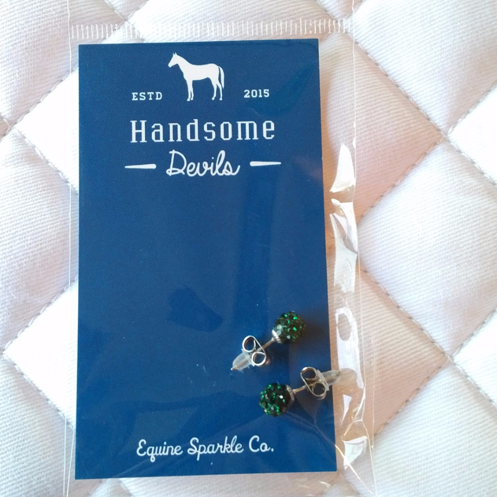 Hunter Green - Charms and Earrings - Pony Express Girls Canada - 1