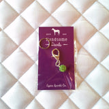 Lime Green Charm and Earrings - Pony Express Girls Canada - 1