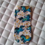 Unicorn Herd Ankle Socks - Pony Express Girls