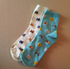 Barn Cat Crew Socks - Pony Express Girls Canada - 1