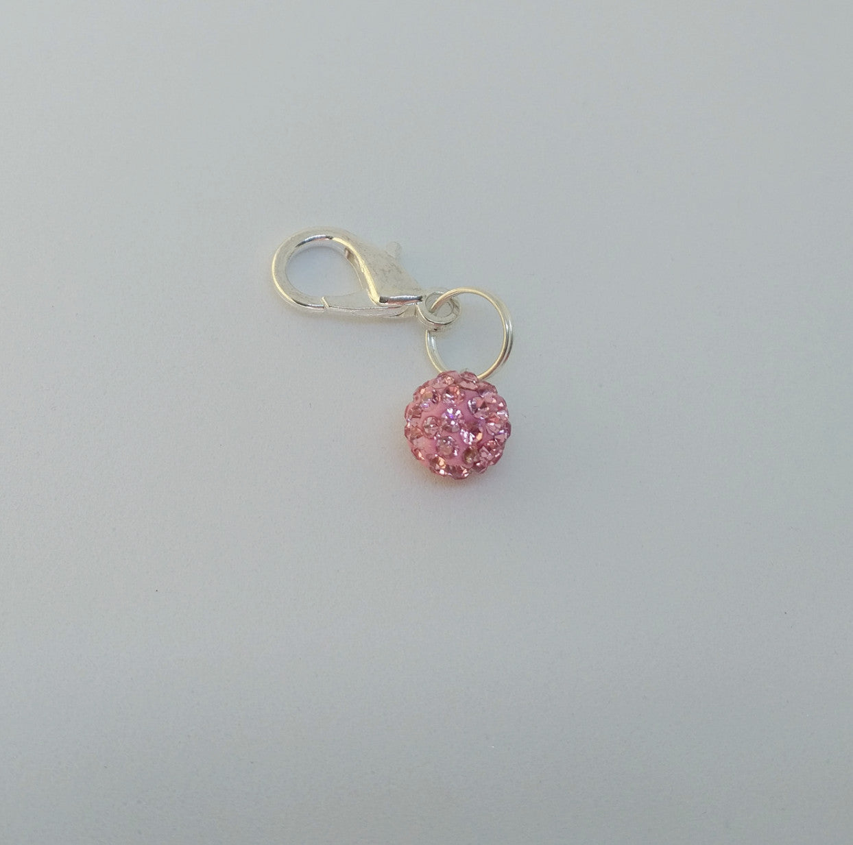 Pink Lemonade Crystal Bridle Charm - Pony Express Girls