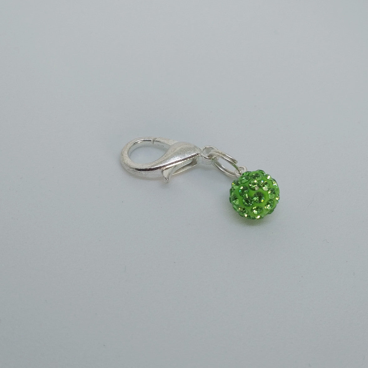 Lime Green Charm and Earrings - Pony Express Girls