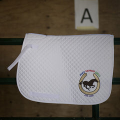 Pony Express Girls Embroidered Logo Saddle Pads - Pony Express Girls