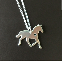 My Heart - Silver Necklace - Pony Express Girls