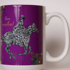 Horse Mug - Born to Gallop - Pony Express Girls