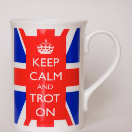 Horse Mug - Keep Calm and Trot On - Pony Express Girls