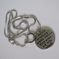 Horses Make My Life Whole - Necklace - Pony Express Girls