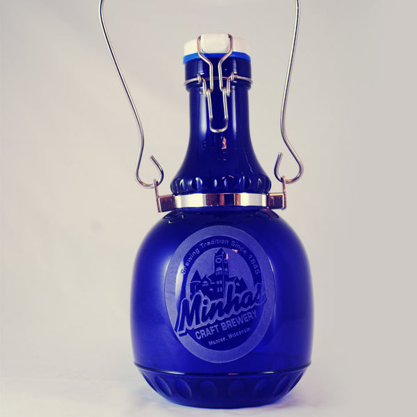 Minhas Craft Brewery Glass Growler