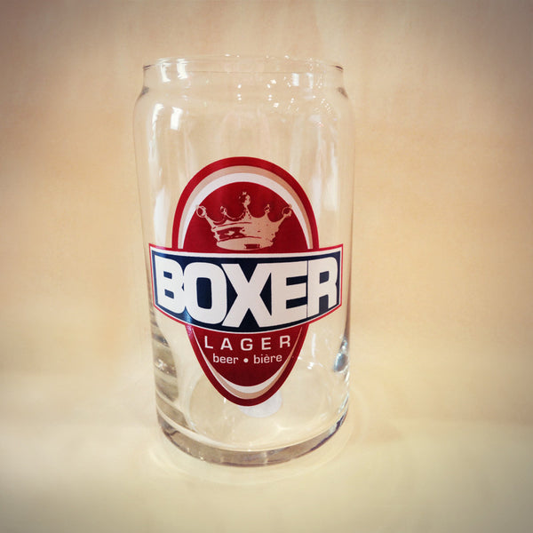 Boxer Lager Glass