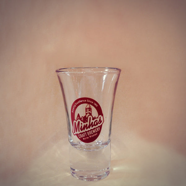 Minhas Craft Brewery shot glass