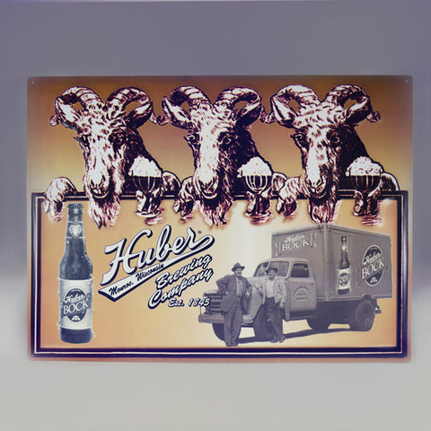 Huber Brewing Company Sign