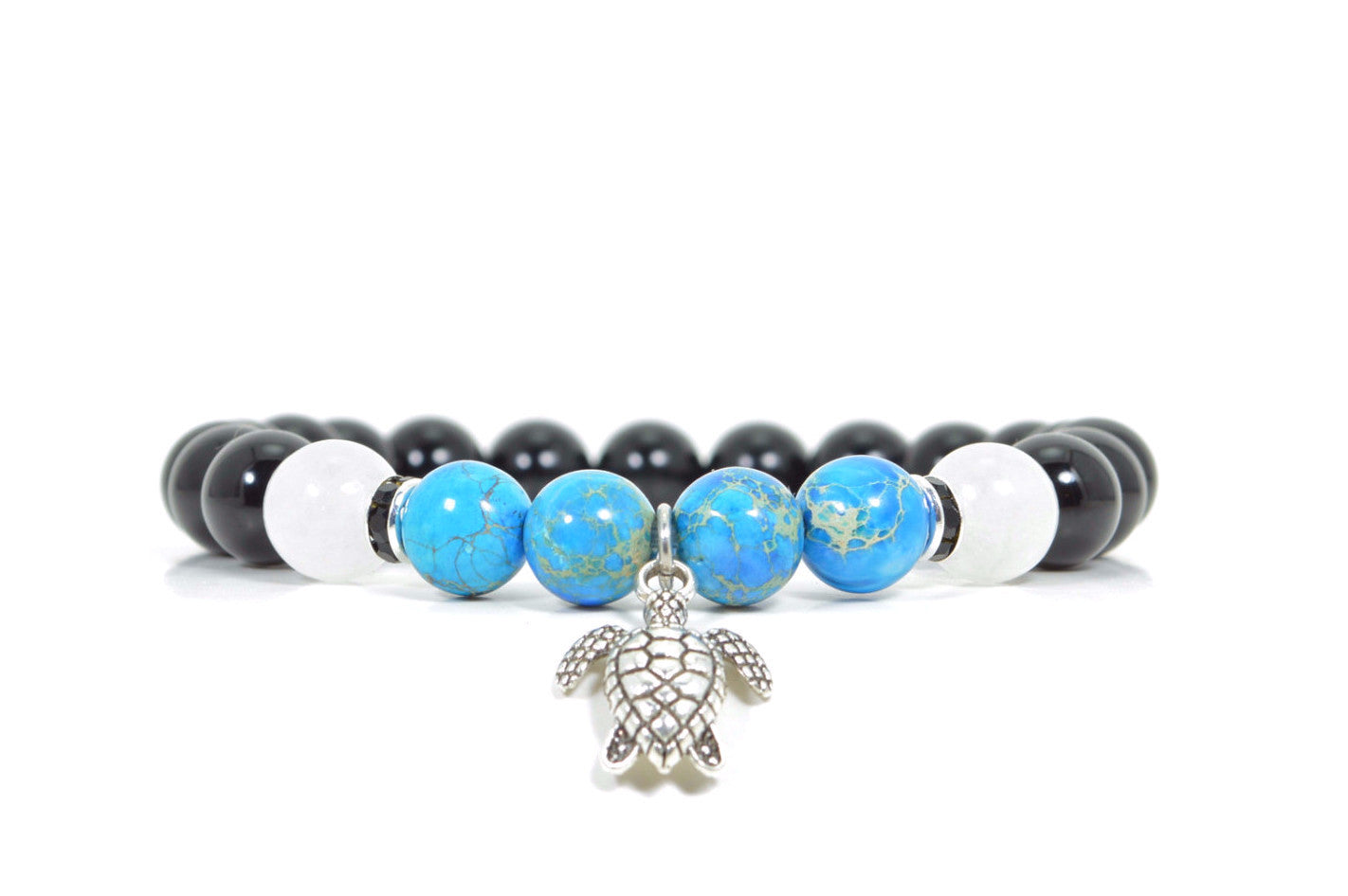 buddha genuine feshionn bracelets gemstone jewellery iobi bracelet blue sale bead agate on products