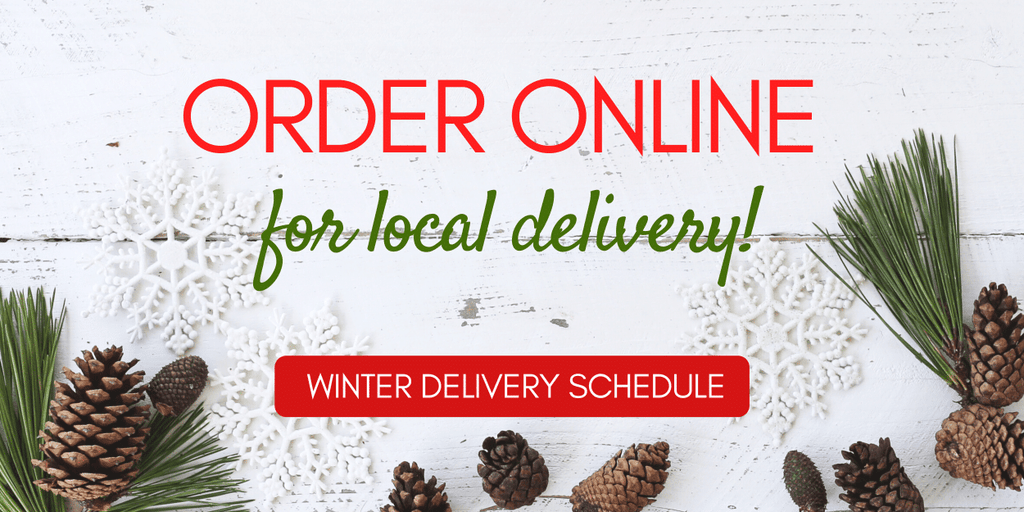 Order Online for local delivery!