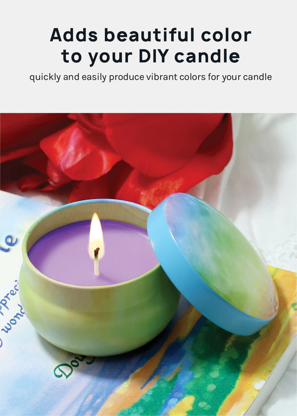Candle DIY: Candle Color Dye