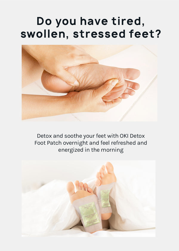 Official Key Items Foot Detox Patch