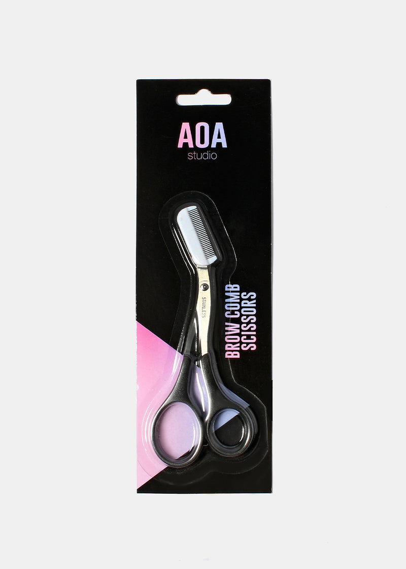 AOA Brow Comb Scissors