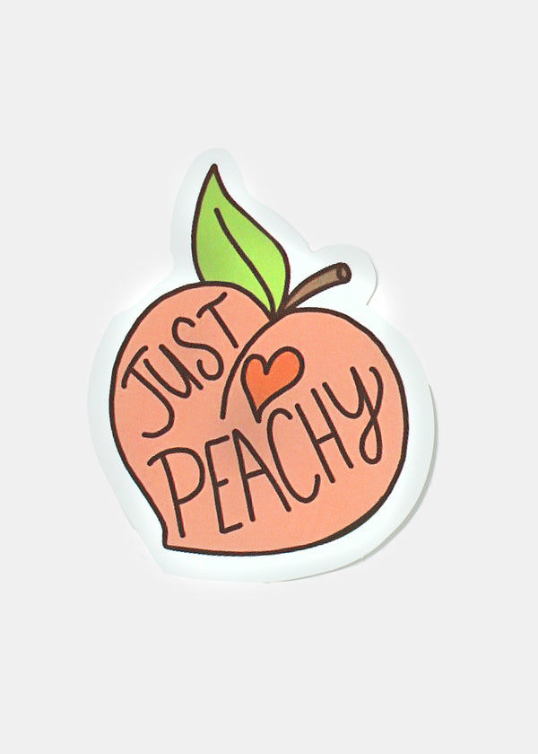 Oki Sticker- Just Peachy