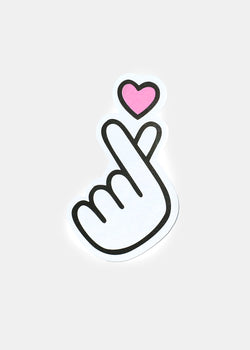 OKI Sticker- Finger Heart
