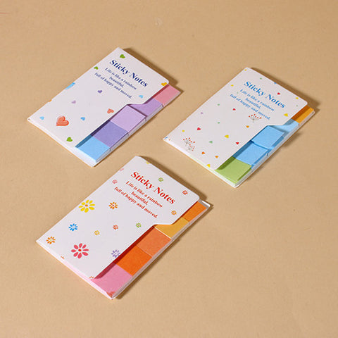 Rainbow Sticky Note Tabs