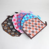 Flower Pattern Makeup Pouch