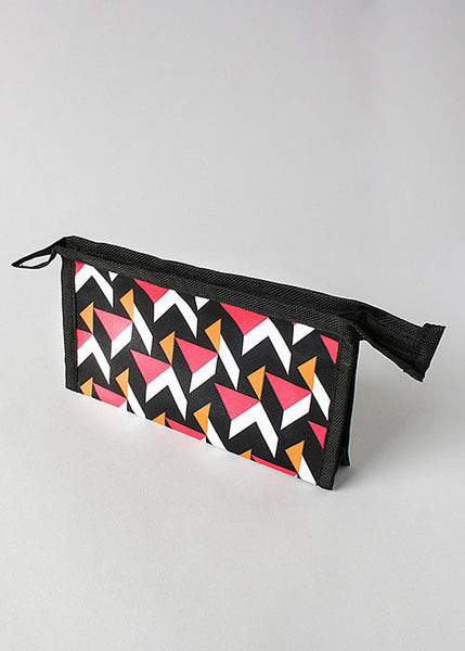 Abstract Cosmetic Pouch