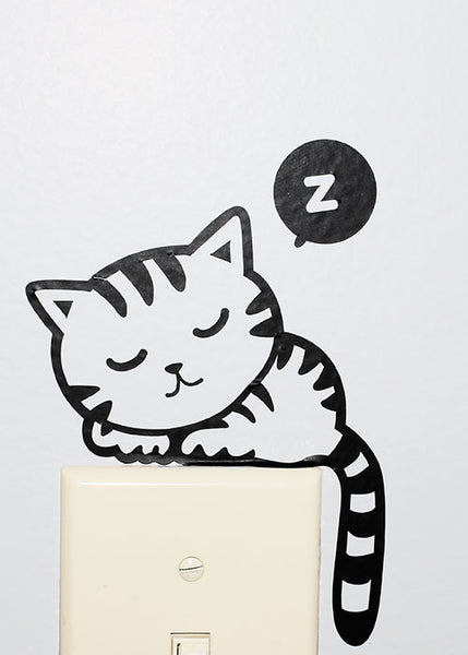 Kitty Wall Decal Sticker