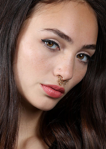 2 Piece Ornate Septum Set
