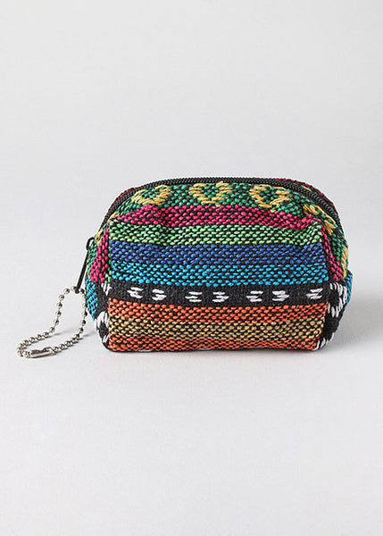 Small Tribal Print Coin Pouch