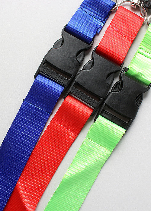 Solid Color Lanyard