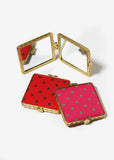 Square Polka Dot Compact Mirror