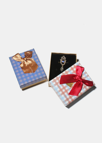 Small Plaid Gift Box