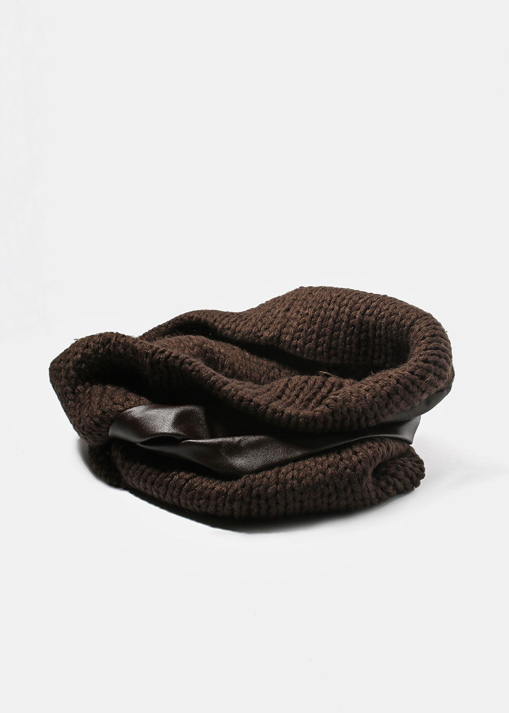 Brown Crochet Neck Warmer