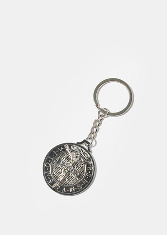 Religious Coin Key Chain