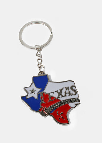 Texas Lone Star Key Chain