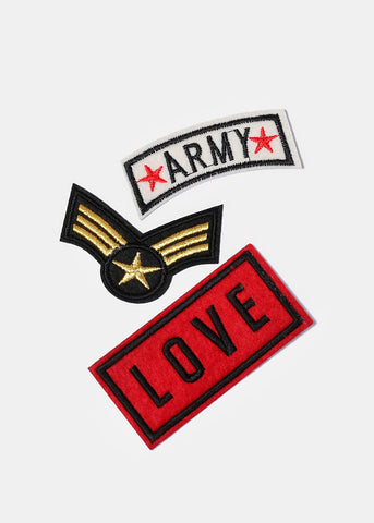 Army Iron-On Patches