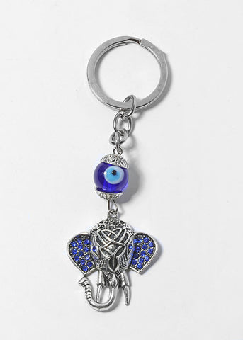 Elephant & Eye Keychain
