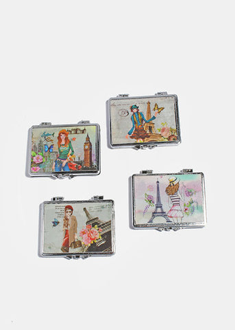 Fashionista Double Mirror Compact