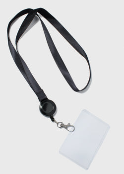 Retractable ID Holder Lanyard