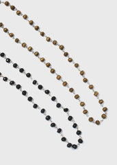 Wooden Bead Glasses Chain