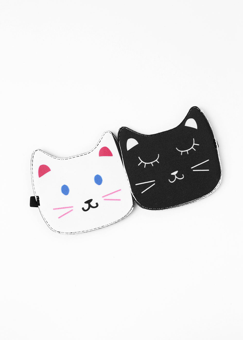 Two-Tone Cat Sleep Mask