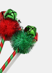 Jingle Bell Pom Pen