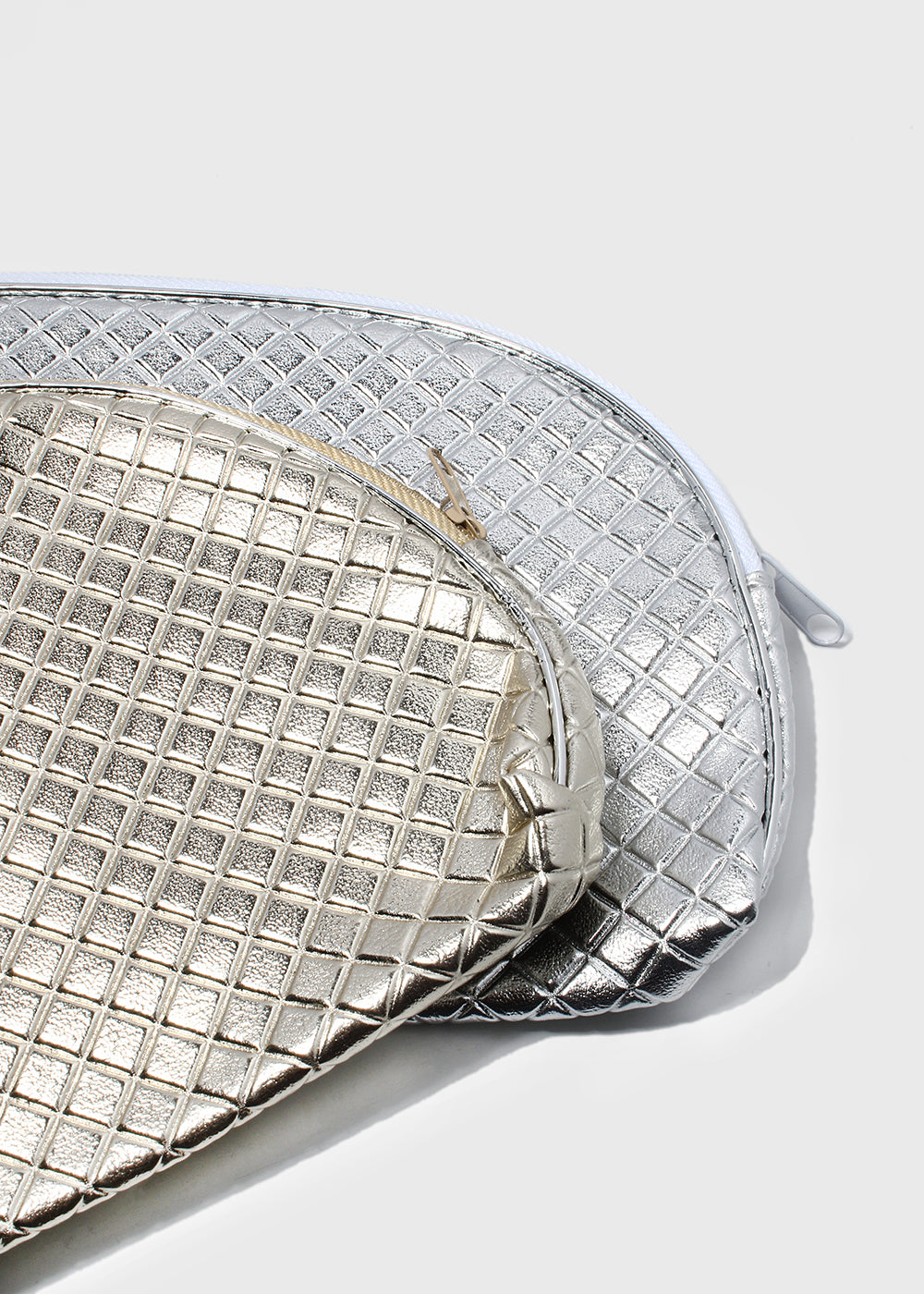 Metallic Cosmetic Pouch