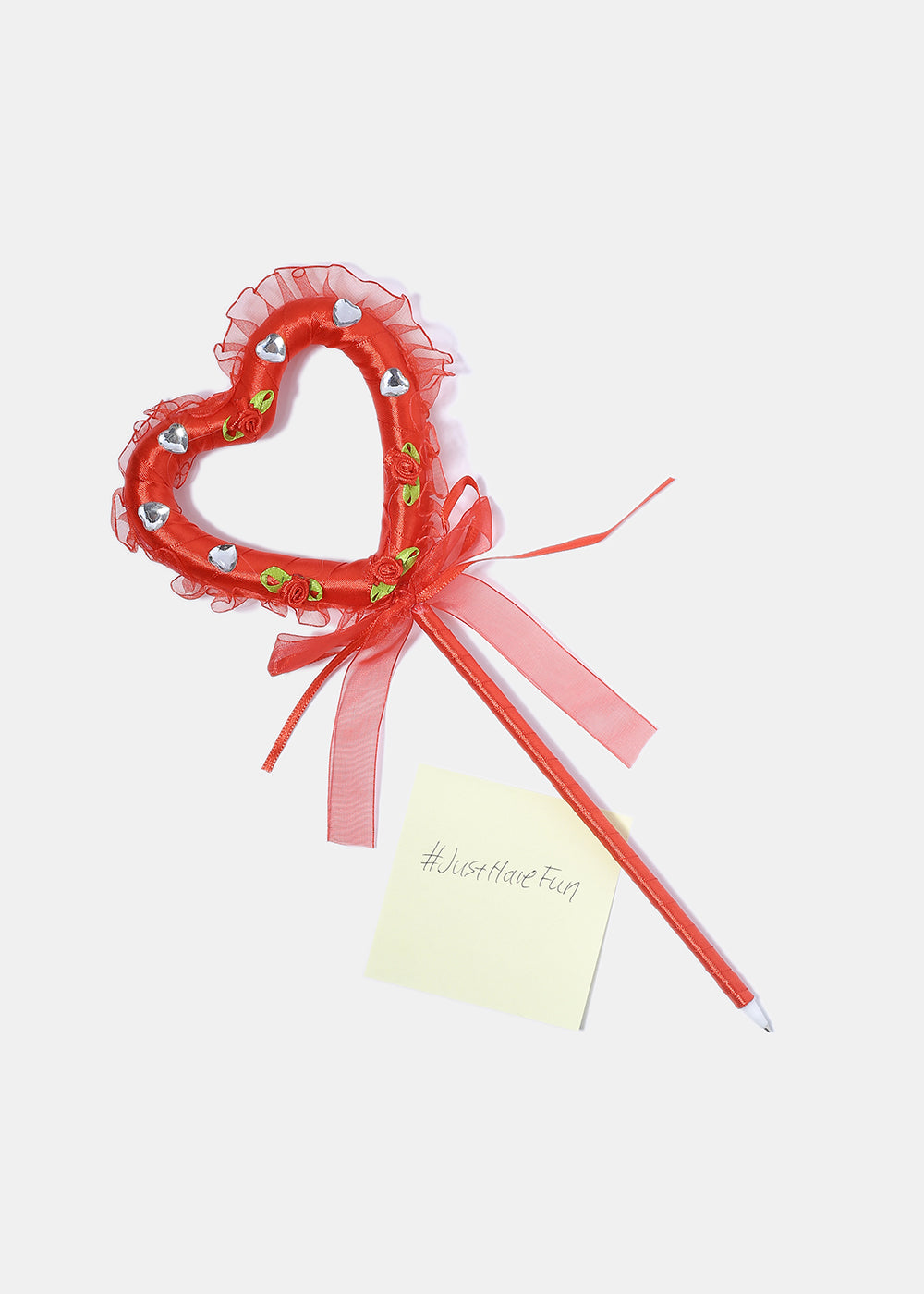 Large Lace Heart Pen
