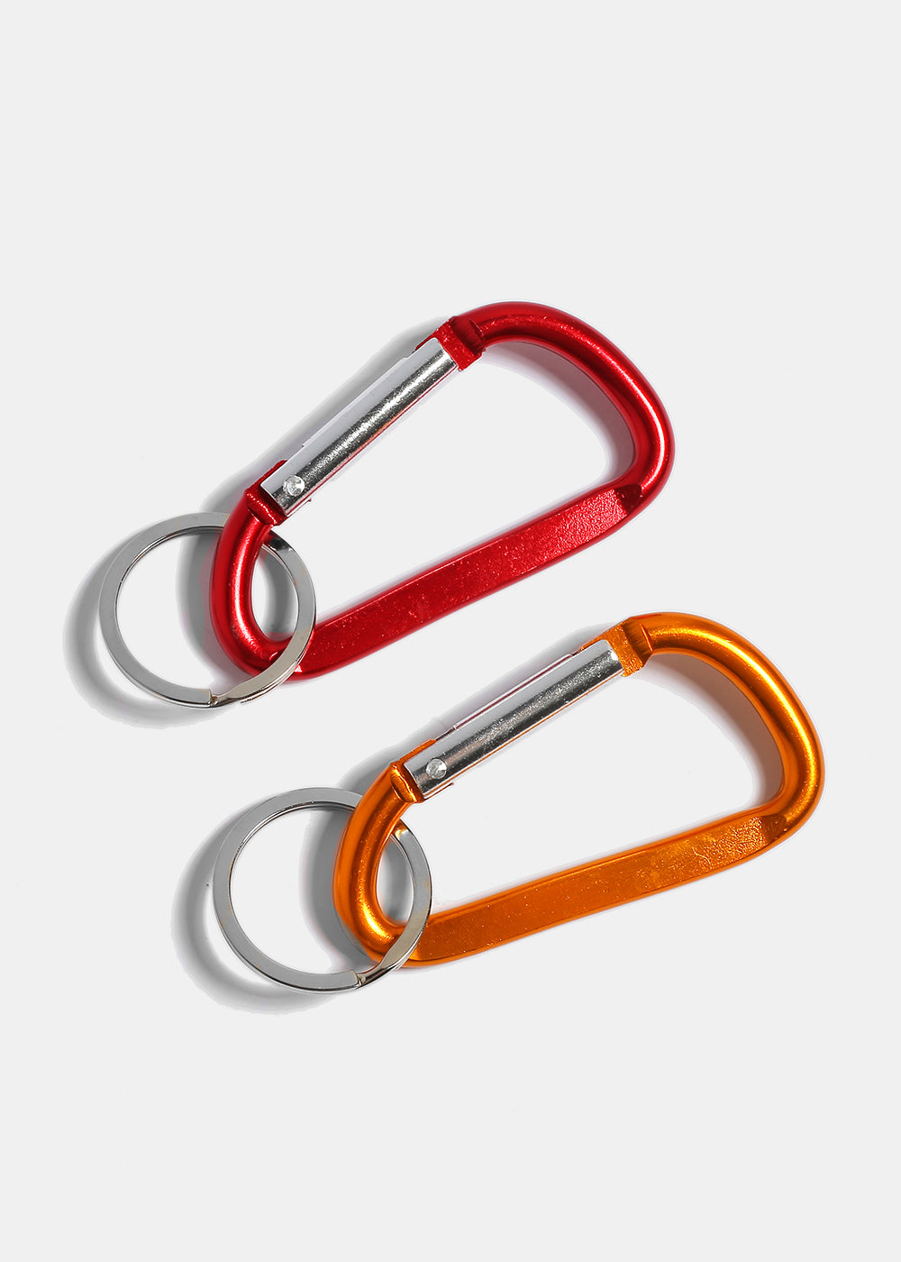 Solid Color Latch Keychain