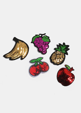 Sequin Fruit Pin