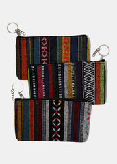 Tribal Print Coin Purse